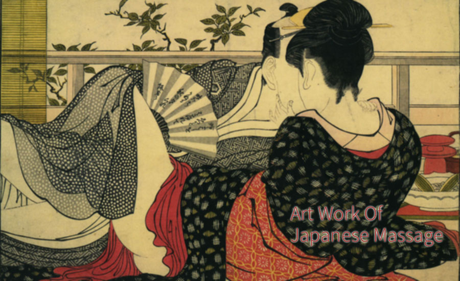 An Art Work of Erotic Japanese Massage...