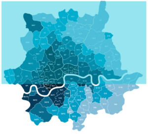 Areas we cover in North London